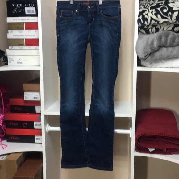 Guess Denim - MMAO Guess Low Rise Skinny Boot sz26